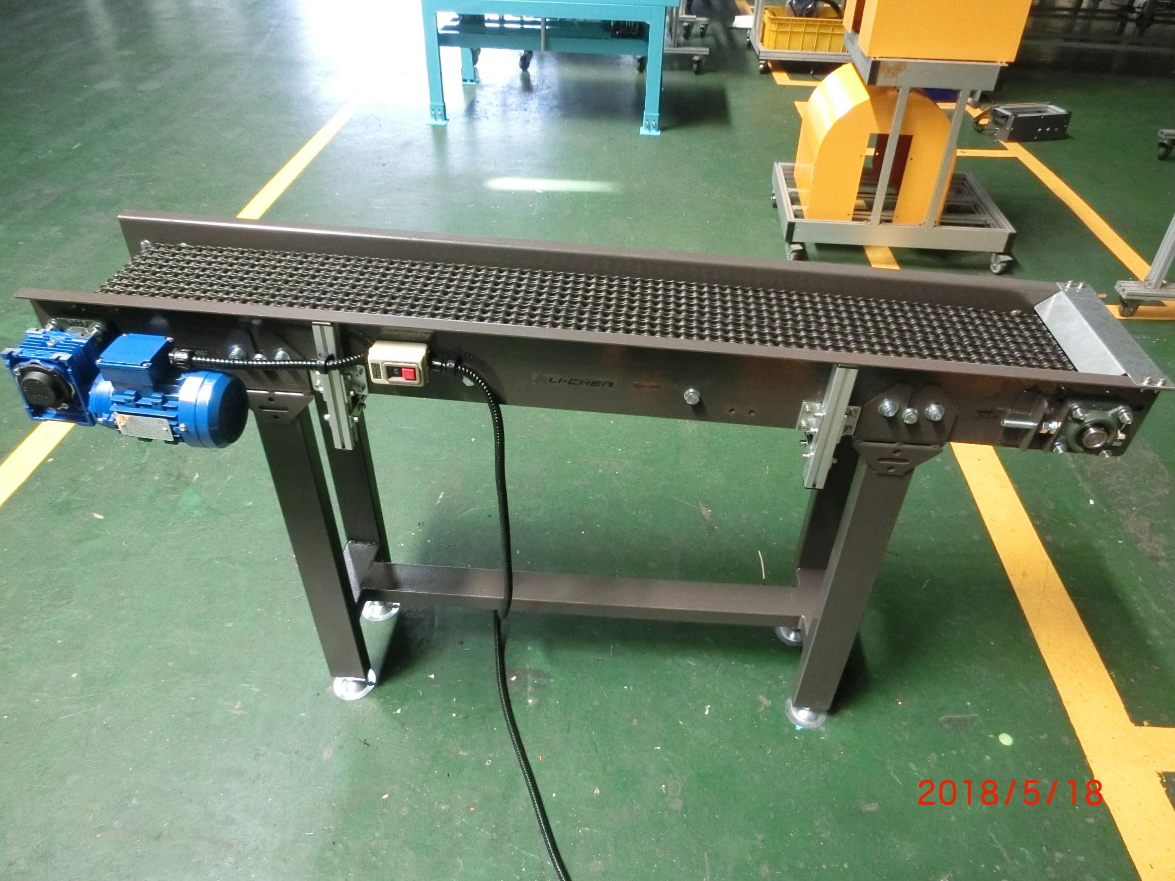 Steel plate type chain conveyor - Lichen Conveyor Equipment Co., Ltd.