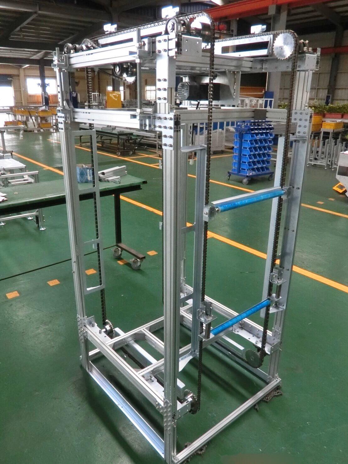 Aluminum extruded chain conveyor - Lichen Conveyor Equipment Co., Ltd.