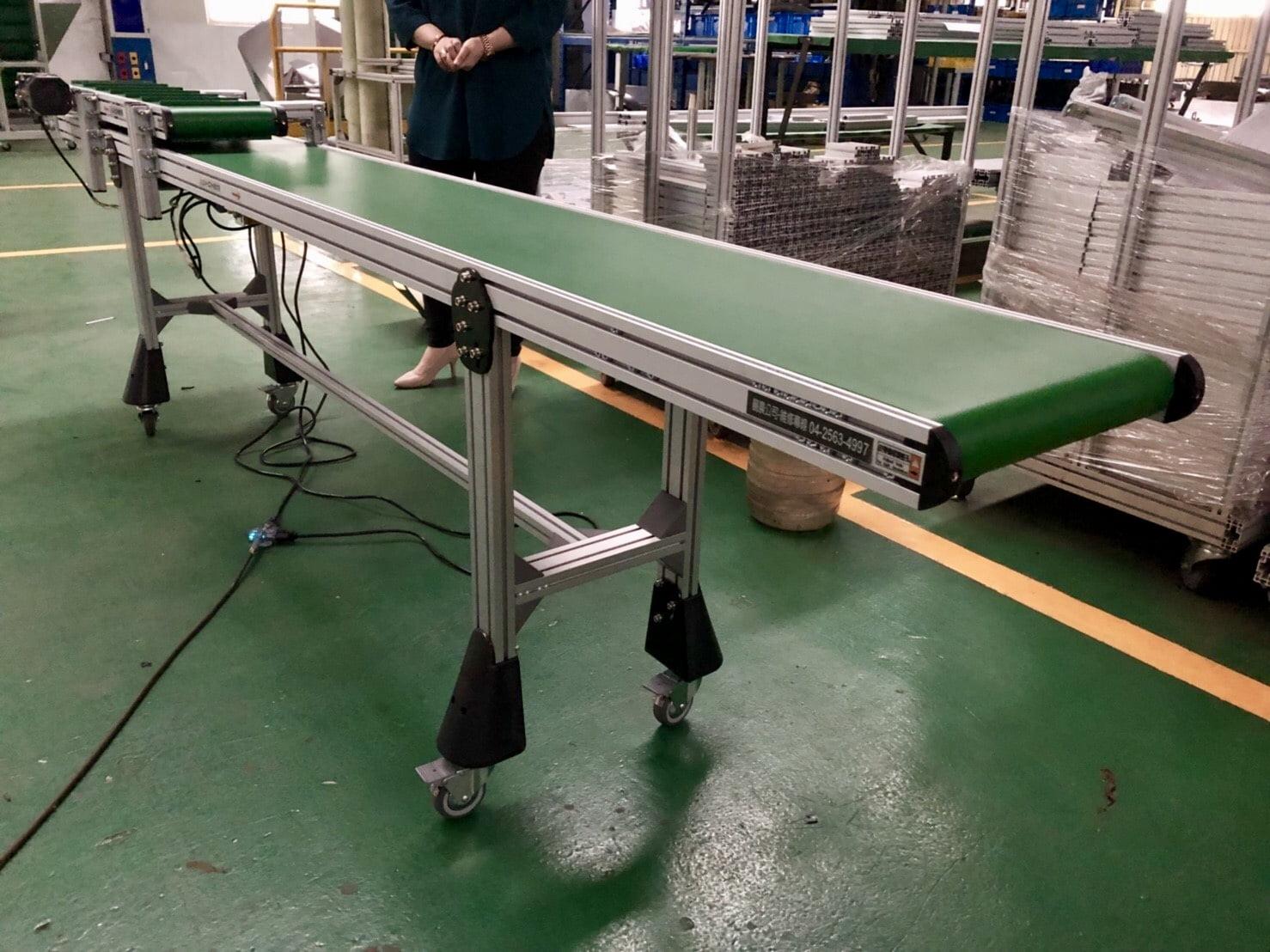 Belt flat conveyor-Lichen Conveyor Equipment Co., Ltd.
