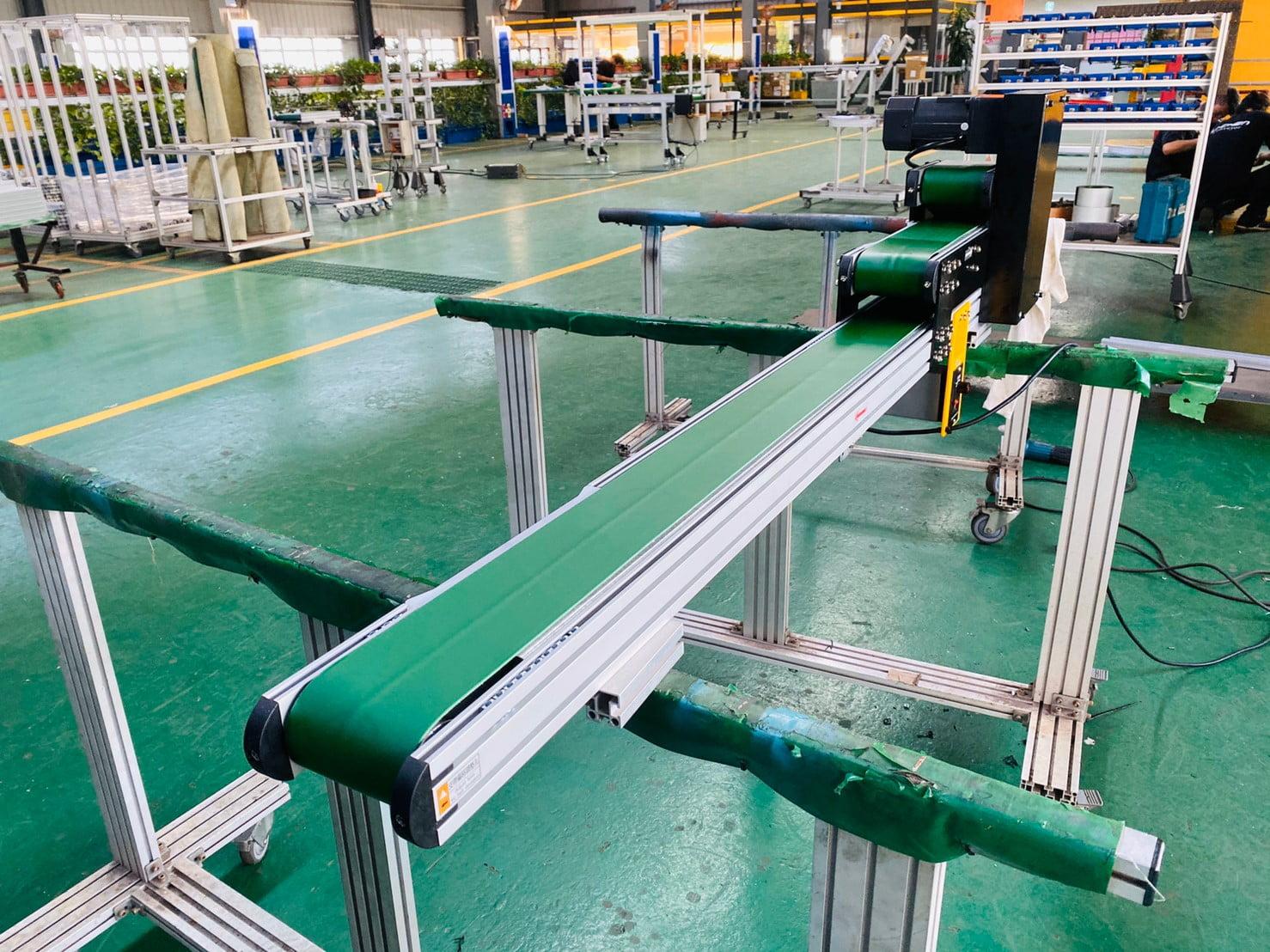 Belt flat multi-body special conveyor -Lichen Conveyor Equipment Co., Ltd.