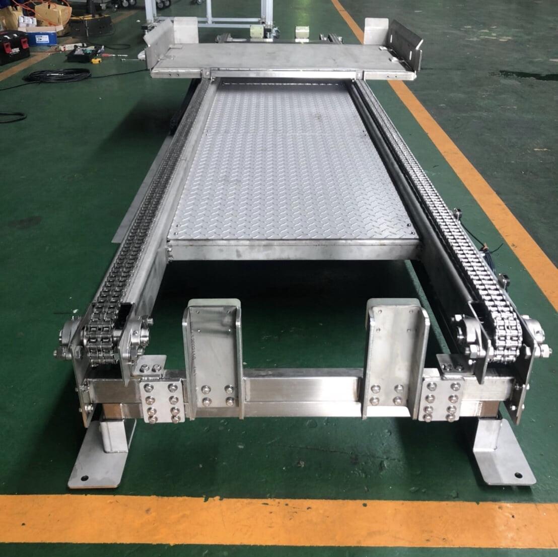 不锈钢链条式输送机-丽晨输送机设备公司