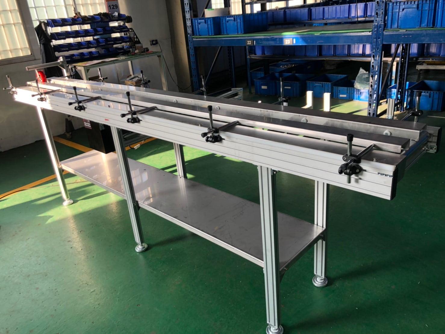 Aluminum extrusion type plane power roller conveyor -Lichen Conveyor Equipment Co., Ltd.