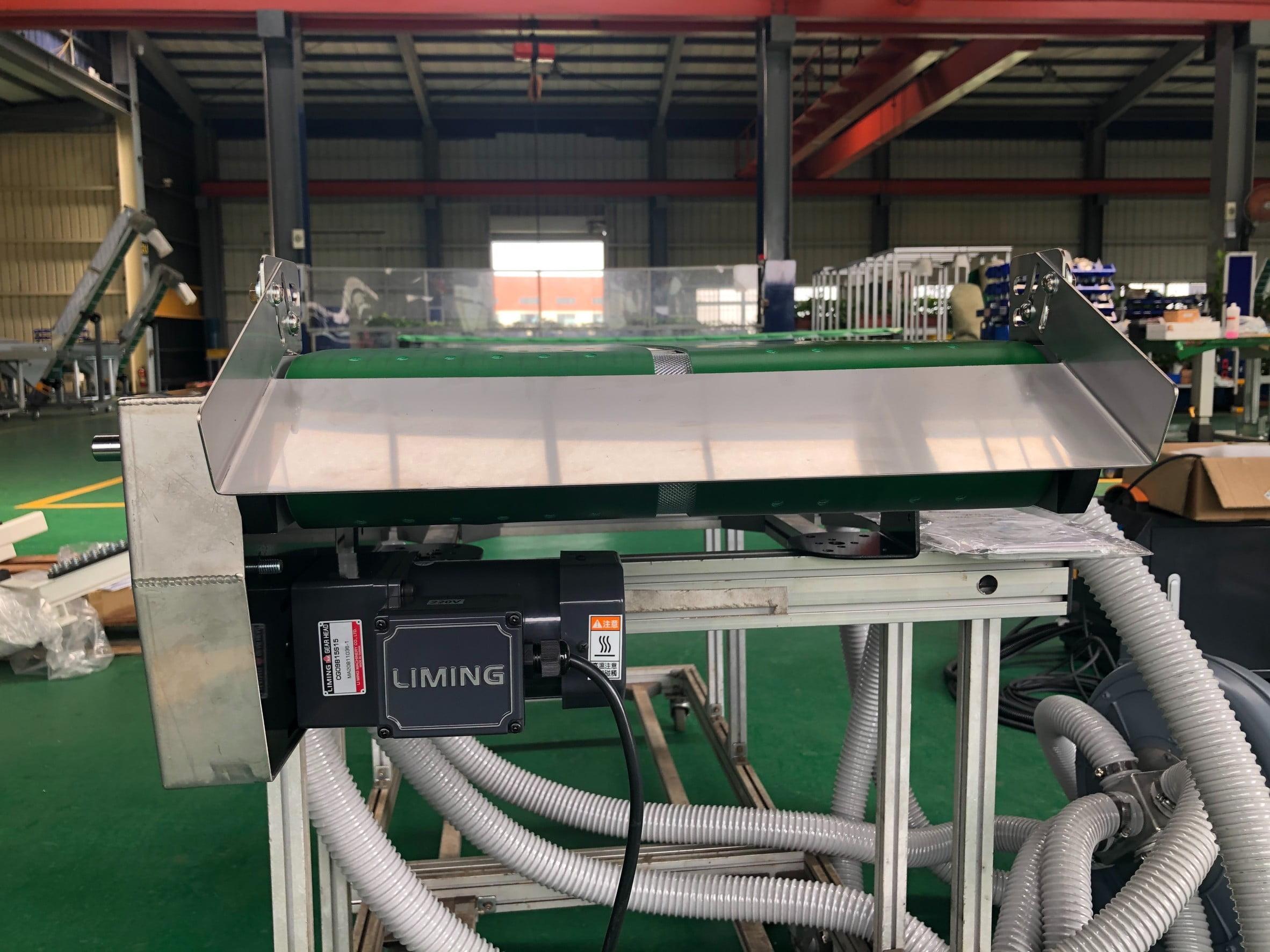 Aluminum extrusion belt type plane suction conveyor-Lichen Conveyor Automatic Equipment Co., Ltd.