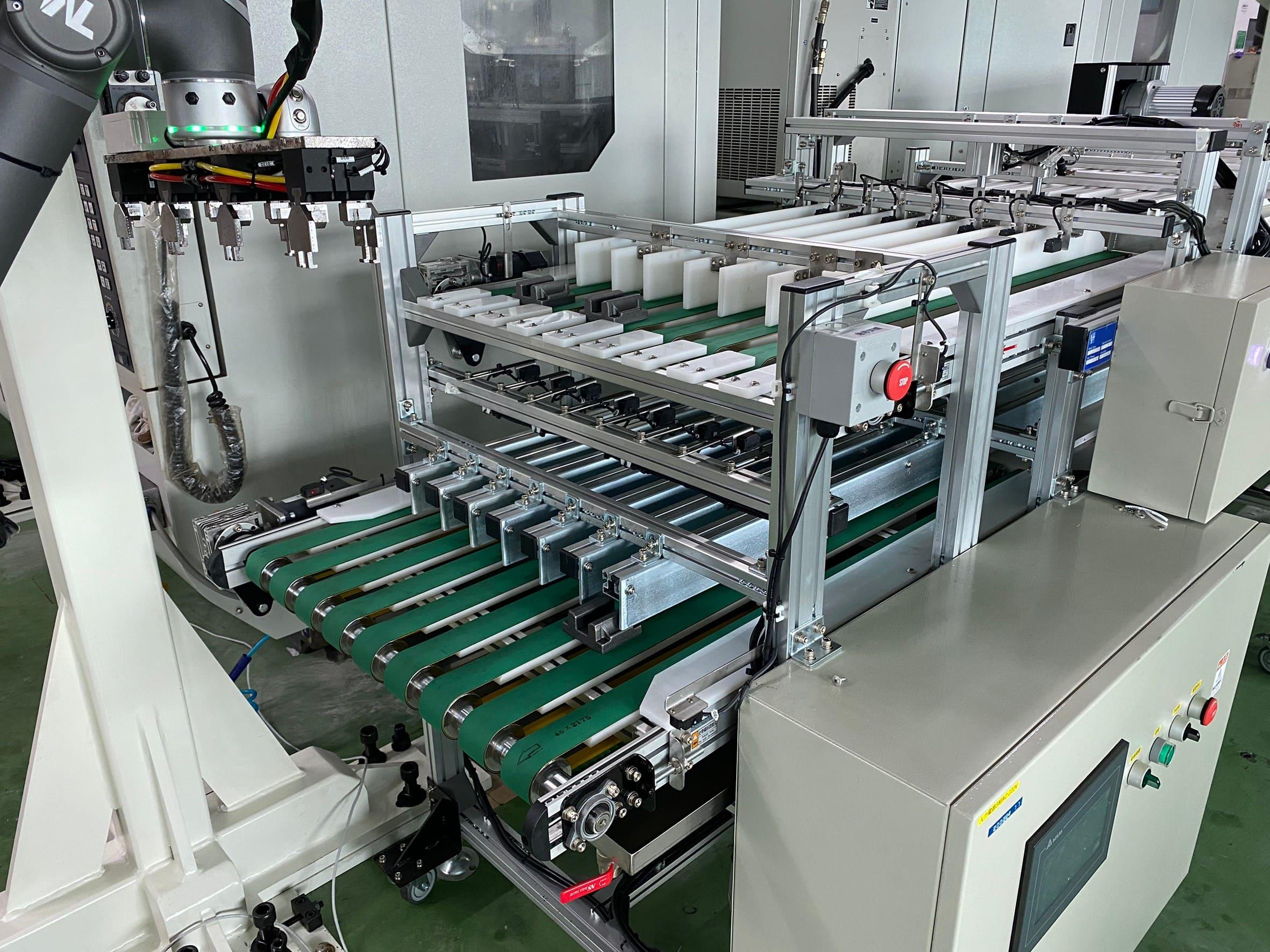 Multi-belt flat single-pole conveyor -Lichen Conveyor Automatic Equipment Co., Ltd.
