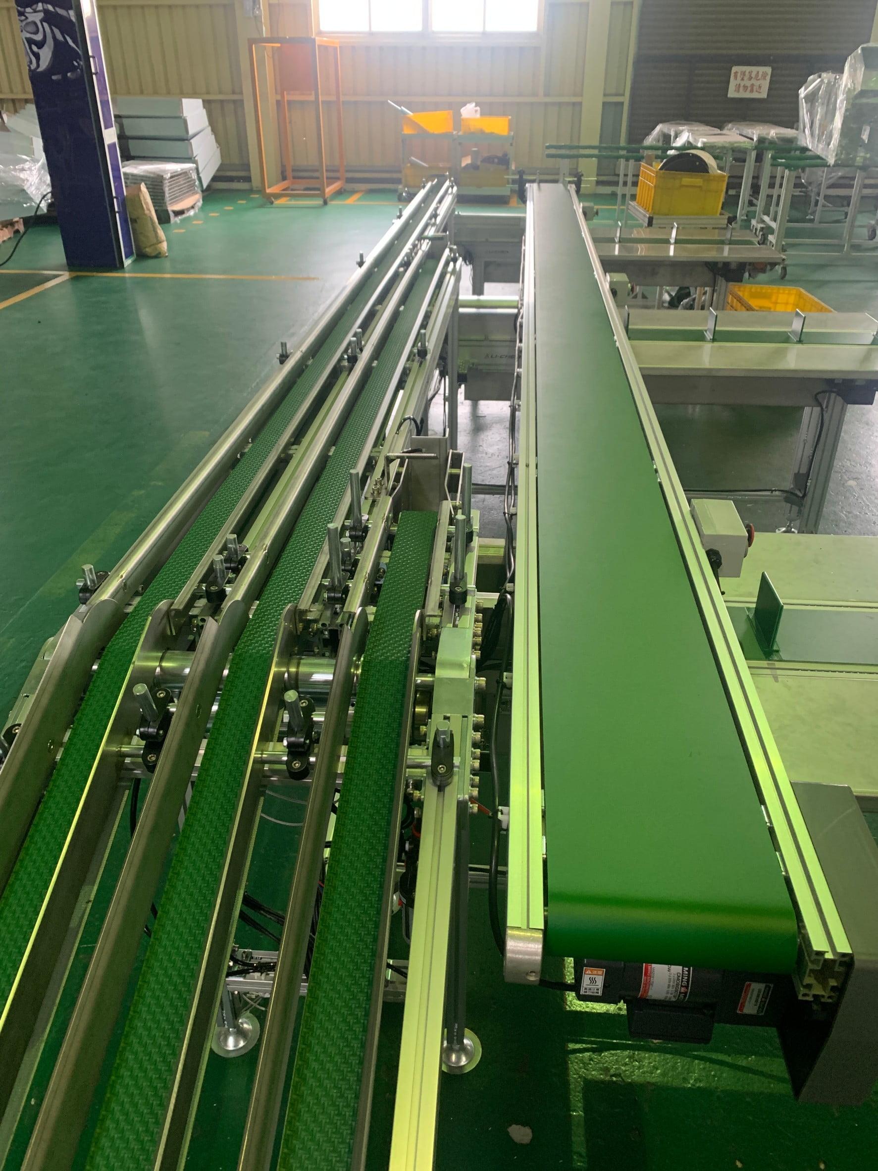 Shunt packaging line conveyor belt -Lichen Conveyor Automatic Equipment Co., Ltd.