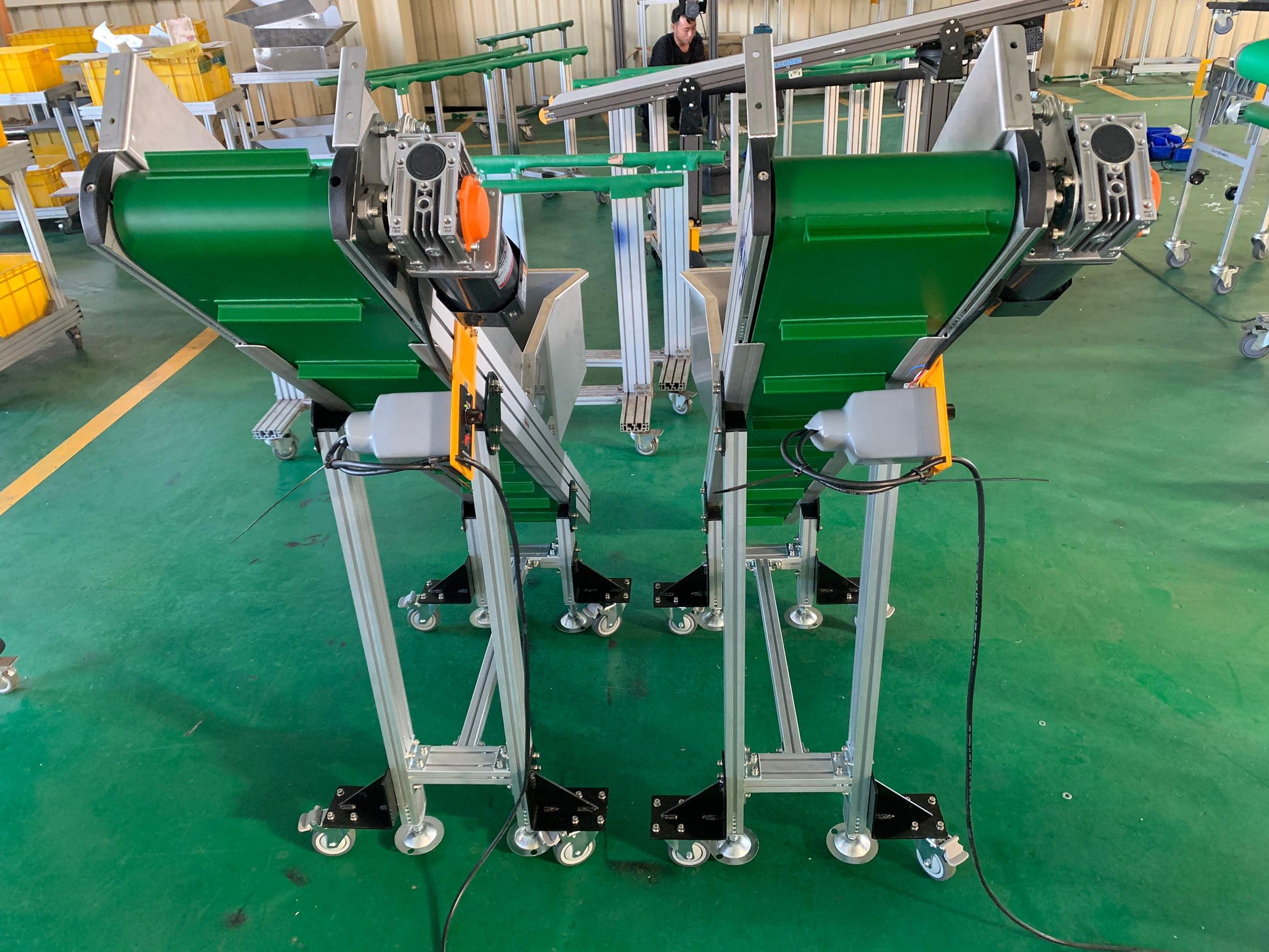 Aluminum extrusion belt climbing conveyor-Lichen Conveyor Automatic Equipment Co., Ltd.