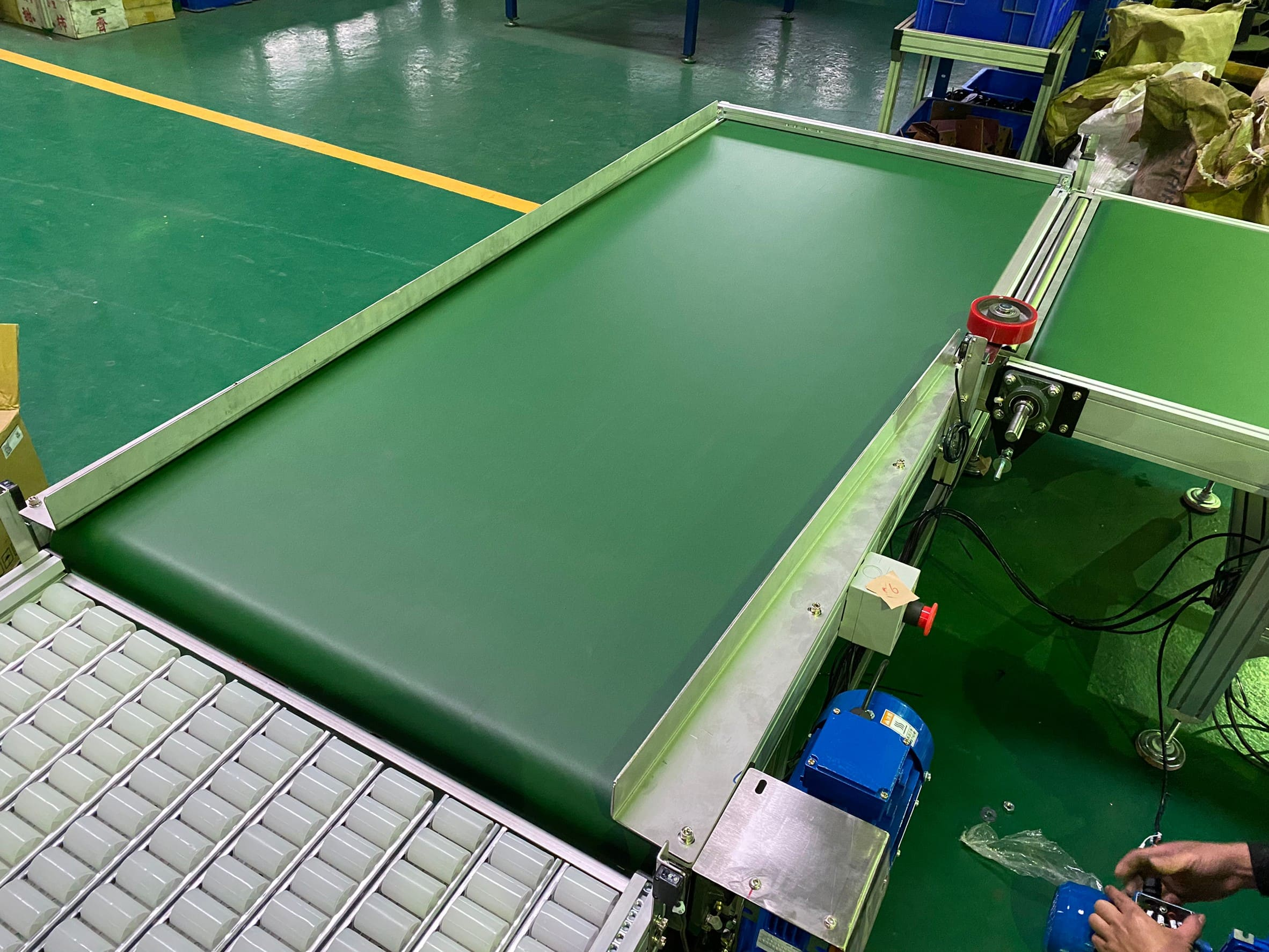 Carton packaging process production line-Lichen Conveyor Automatic Equipment Co., Ltd.