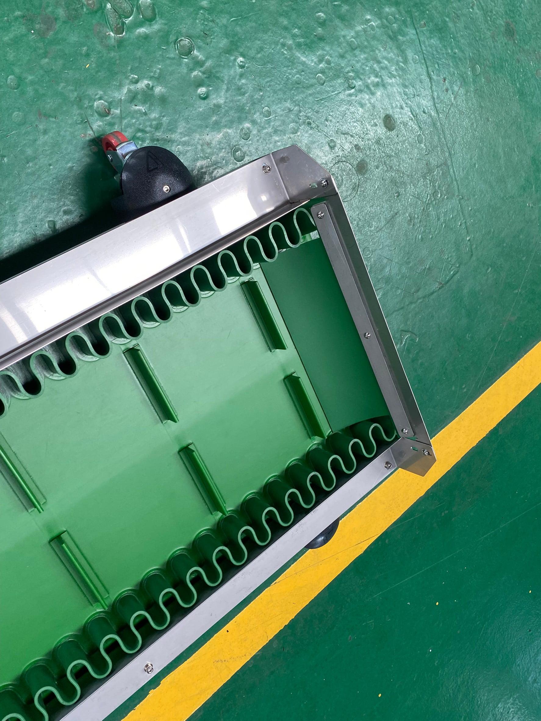 Gooseneck ruffle conveyor -Lichen Conveyor Automatic Equipment Co., Ltd.