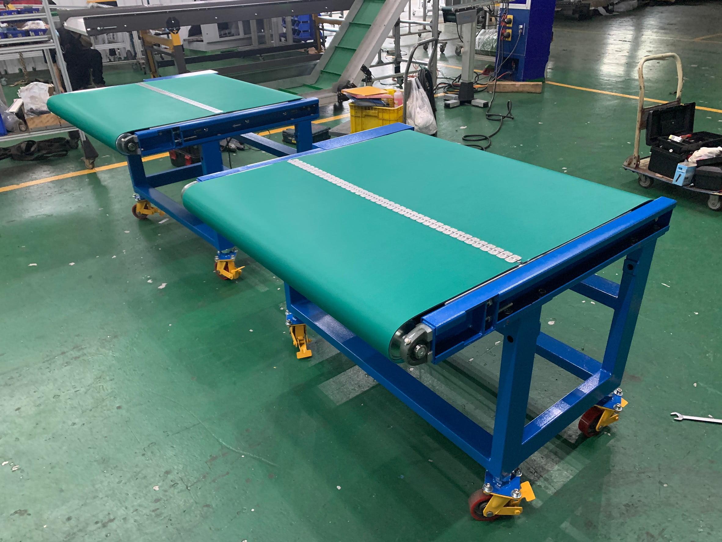 Belt steel buckle conveyor- Lichen Conveyor Automatic Equipment Co., Ltd.
