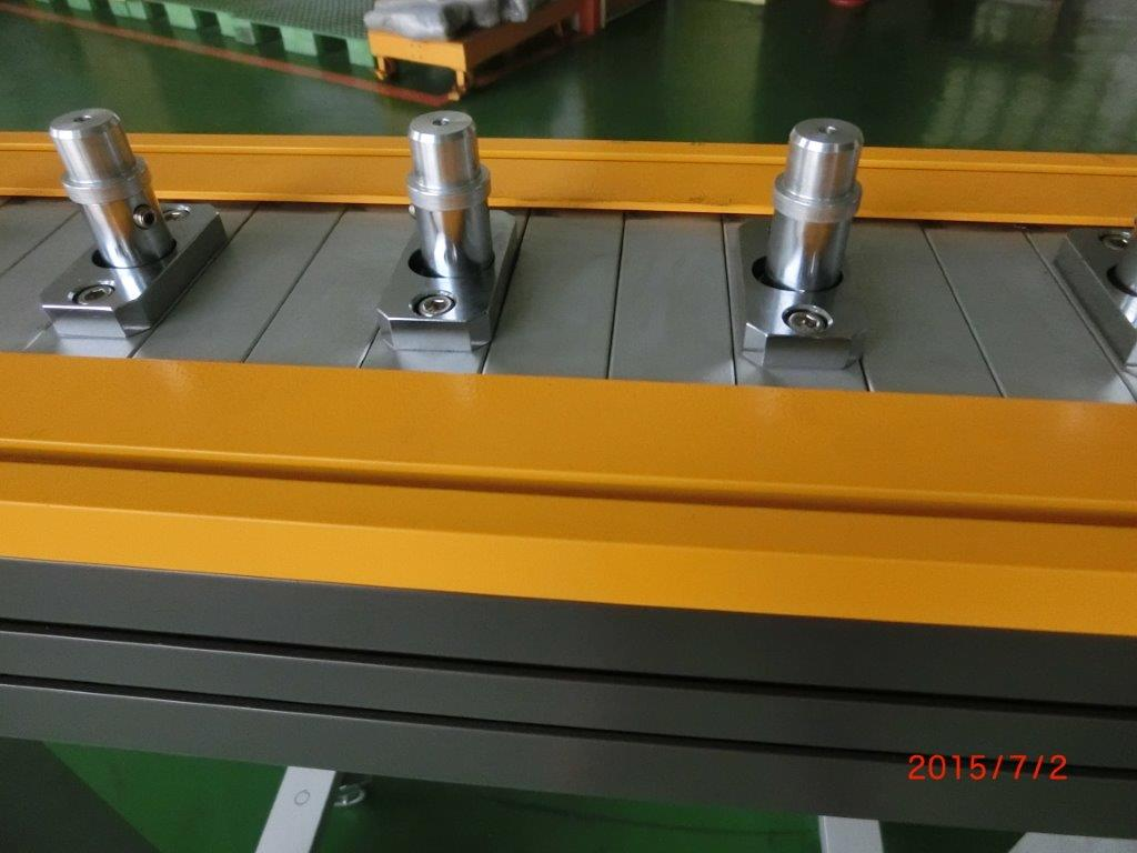 Positioning Aluminum Band Conveyor