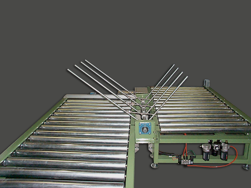 Flat 90-Degree Rotating Type Power Roller Conveyor